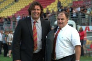 Christophe Jouffret et le Président Bernard Guasch