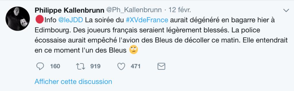 VI Nations. Le mur du XV de France de Guy Novès, épisode 2